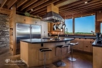 Luxary residential interior kitchen