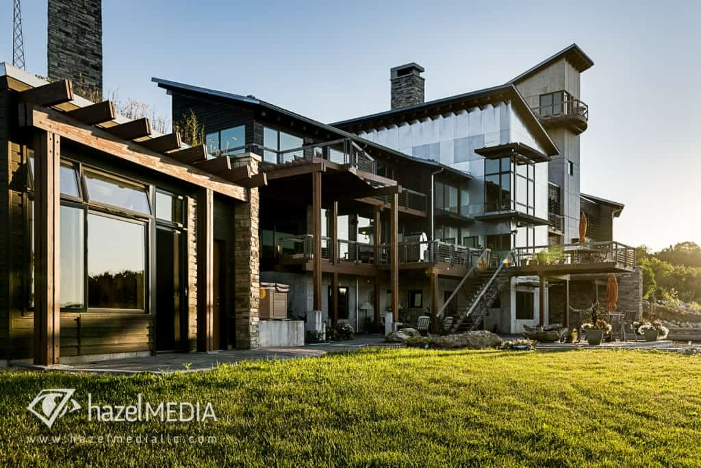Residential real estate exterior photography daytime