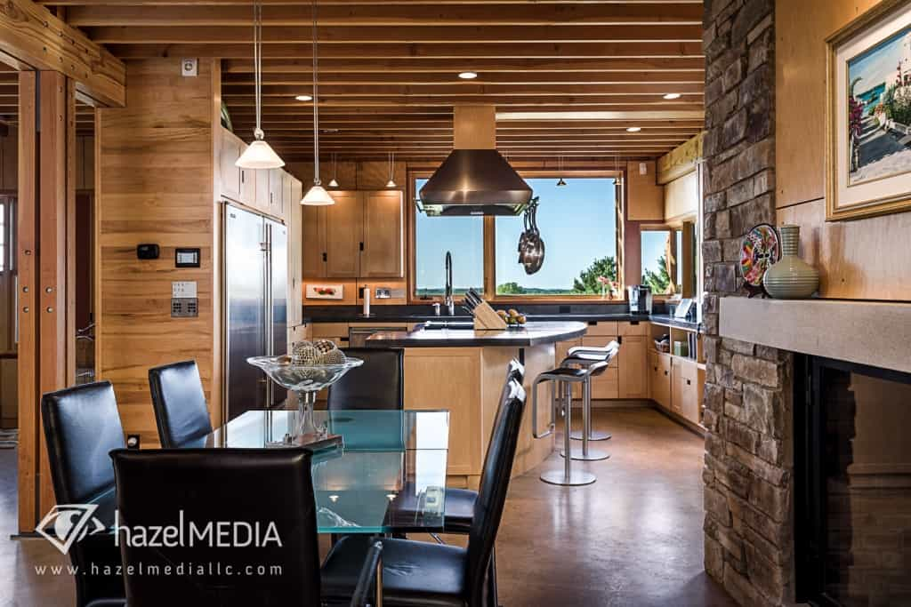 Residential Kitchen and Dining area