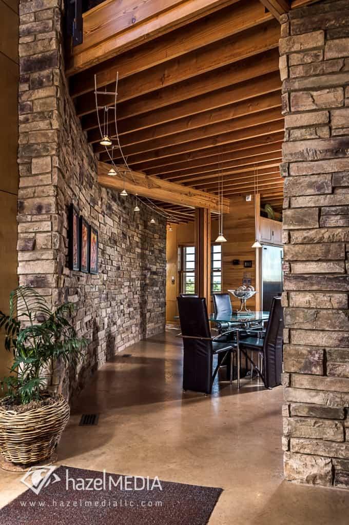 Residential Stonework Walls