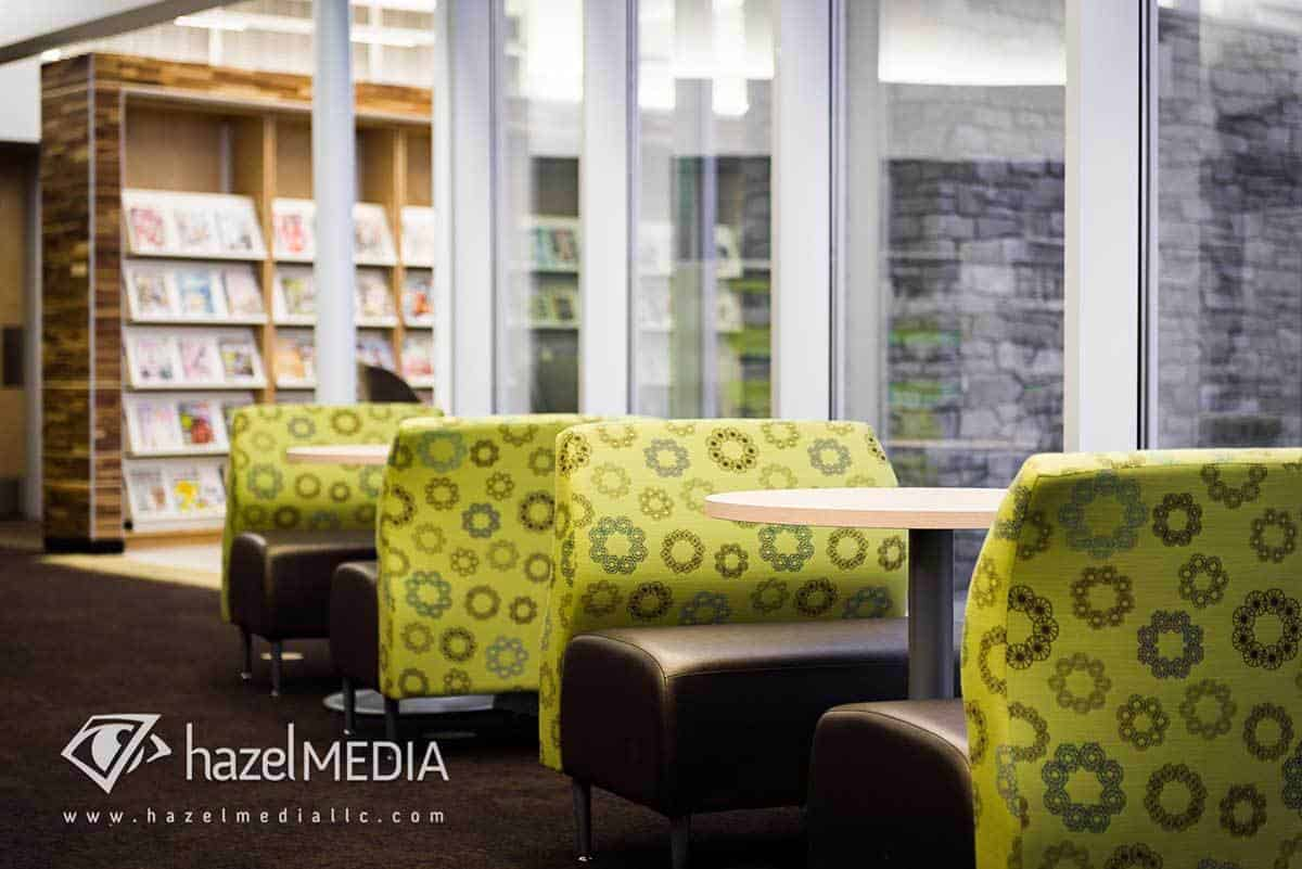 Library Seating Photography